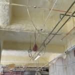 PU Foam Insulation to Soffit of Slab Below Emergency Dept.